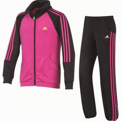a15fed72c3a6c ... survetement adidas fille rose et noir